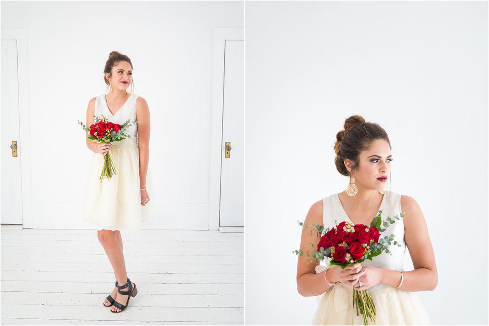 Photography Studio Bridal Photoshoot