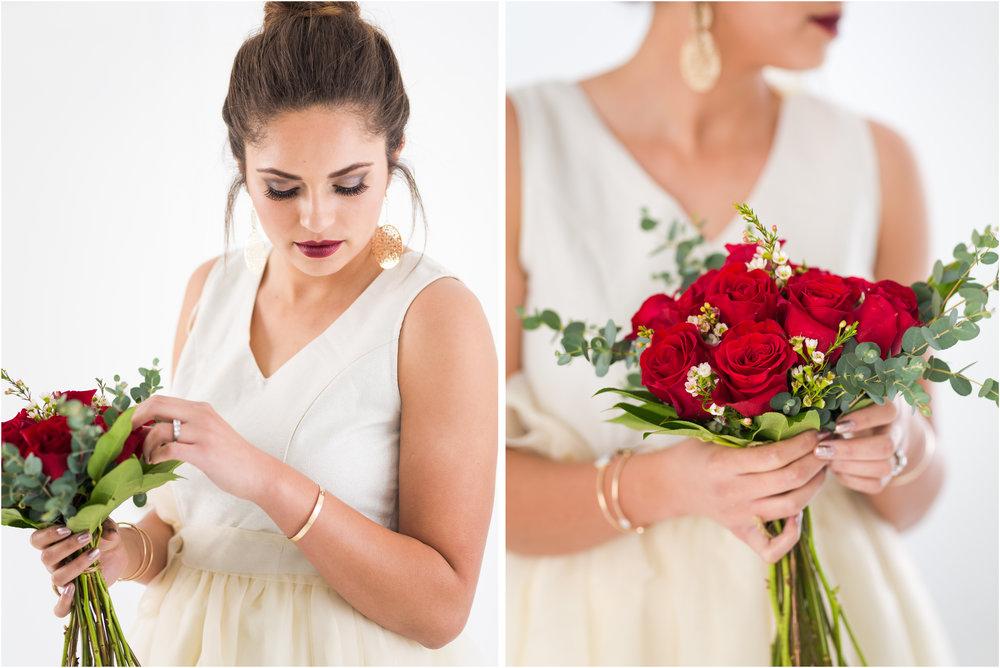 Bridal Details in Photo Studio
