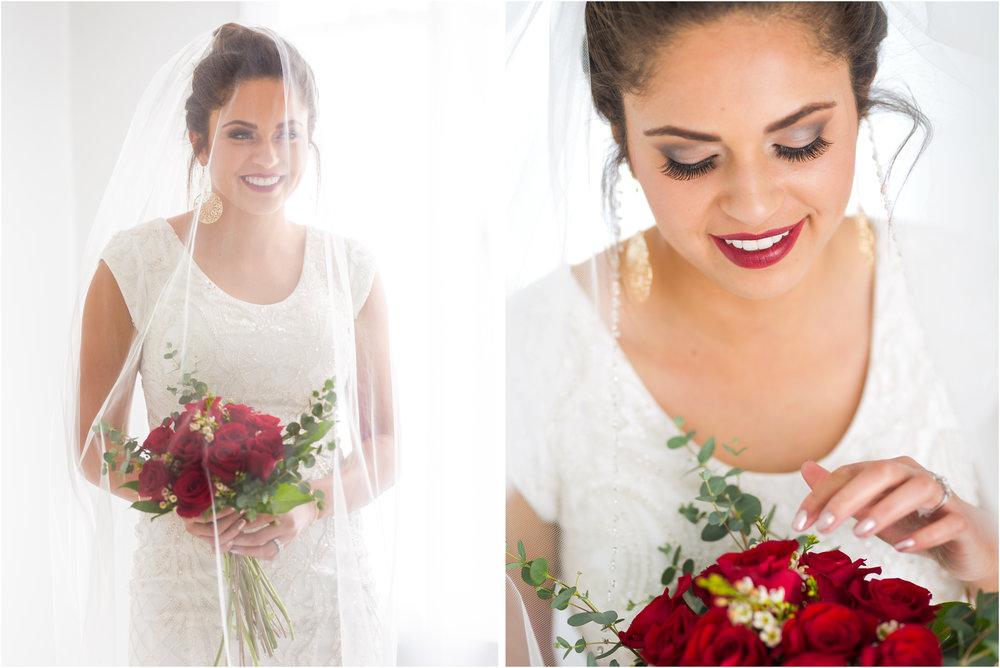 Bride Under her Veil