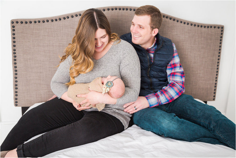 Newborn Lifestyle Family Picture