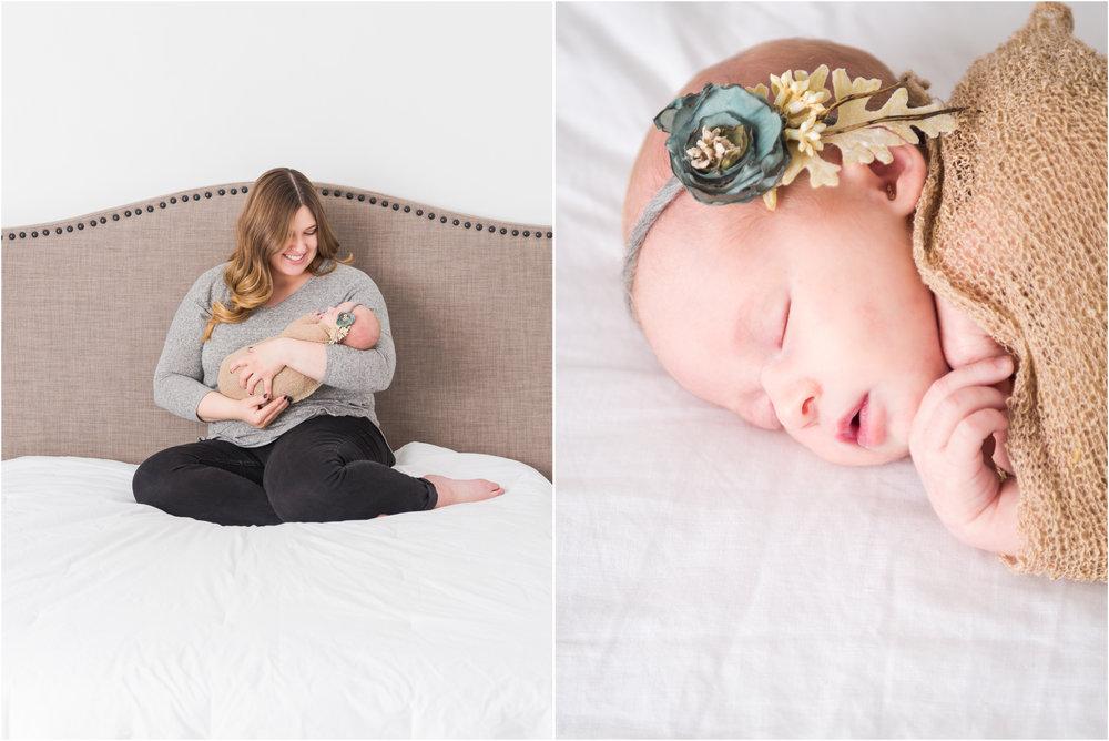 Mom and Newborn Lifestyle