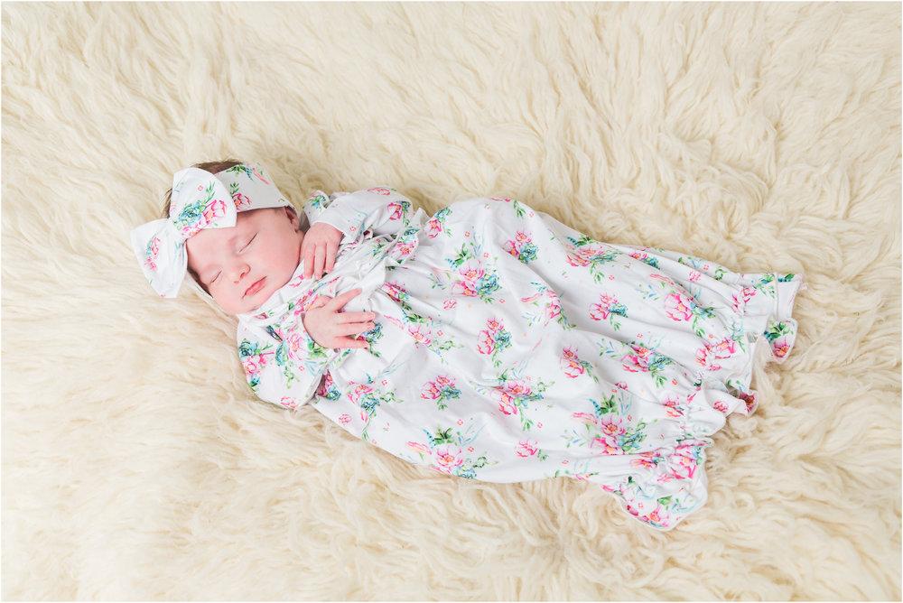 Newborn Floral Dress