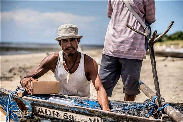 Our Director of Field Operations, Daniel Suchomel, working with #fishermen in Timor-Leste to install our #VTS devices on their vessels. We've been working in partnership with WorldFish to support a locally driven program to achieve robust #fisheries management and #sustainable development of the fisheries sector.