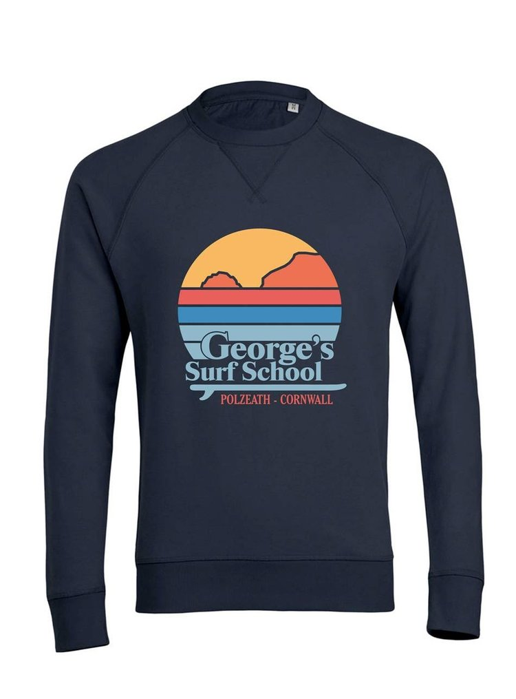 The Retro Sweater £40 - 100% cotton sweater in GSS retro sunset design
