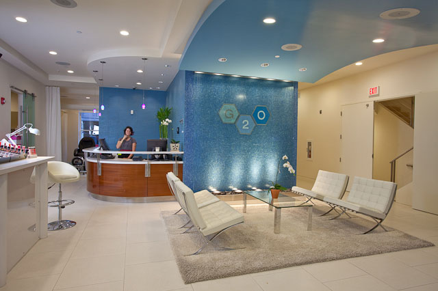 View from the inside. Photo Courtesy of g2o Spa Salon website.