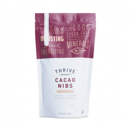 Cacao Nibs - Coupon for 25% off first order