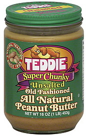 Teddies Peanut Butter