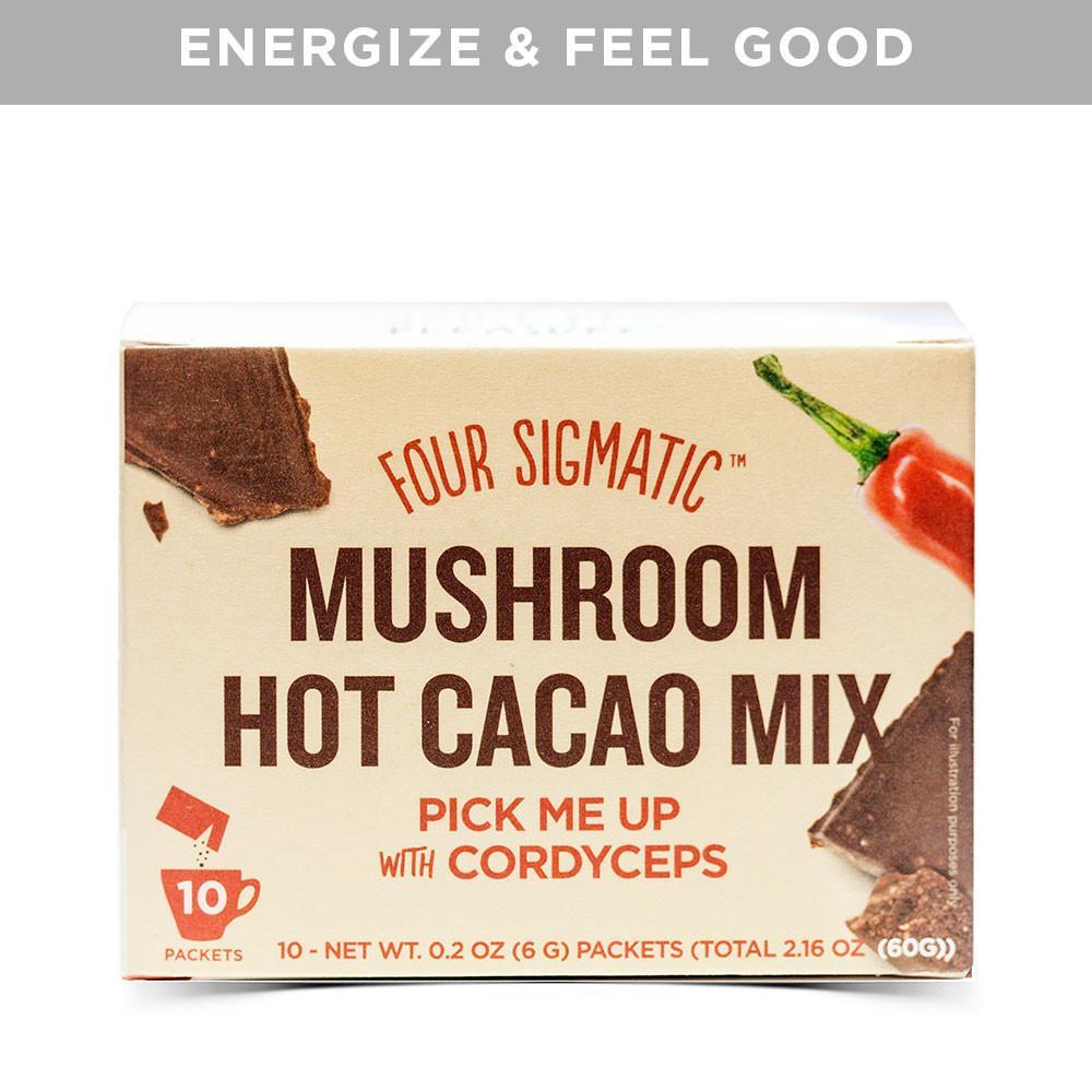 Mushroom Hot Cacao (my fav!)