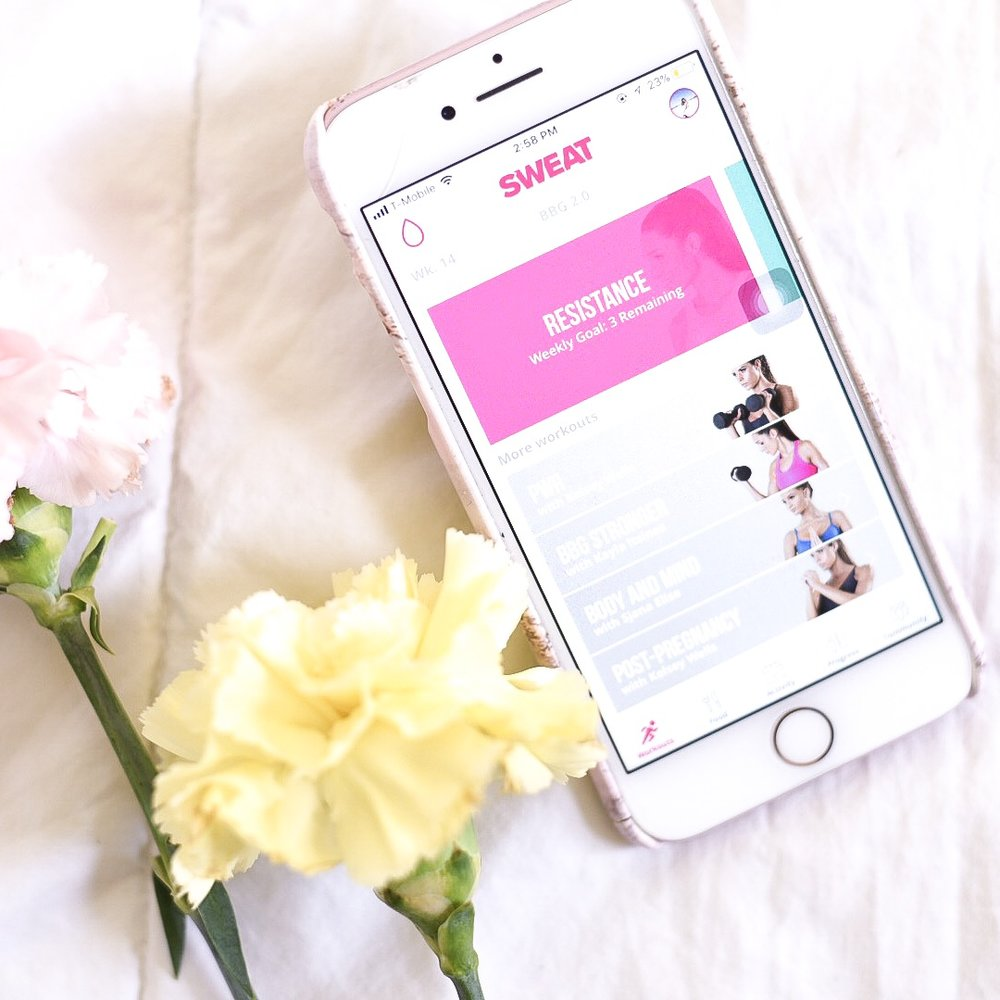 sweat app kayla itsines bbg