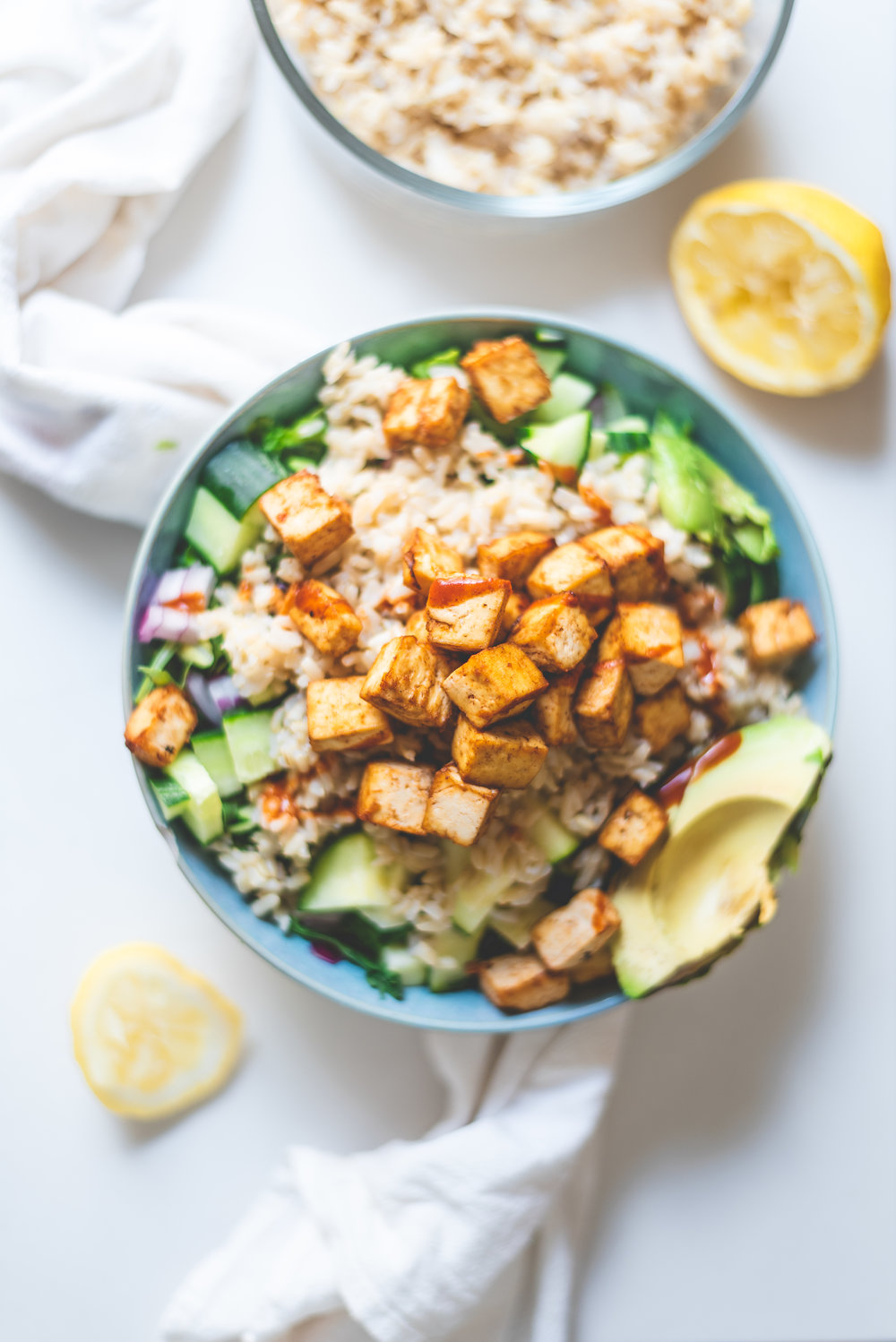 CRISPY HEALTHY TOFU SALAD