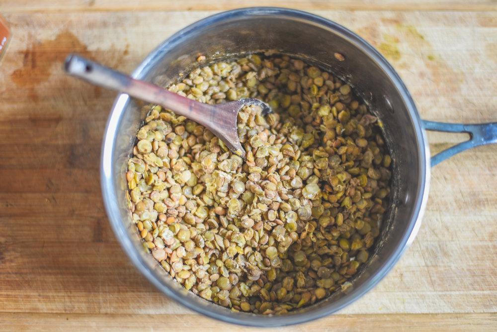 how to cook lentils at home from scratch