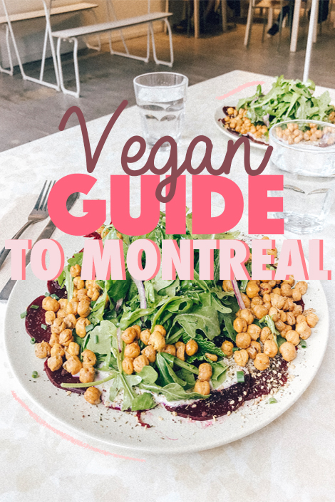 vegan guide to montreal
