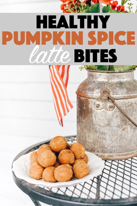healthy Pumpkin Spice bites