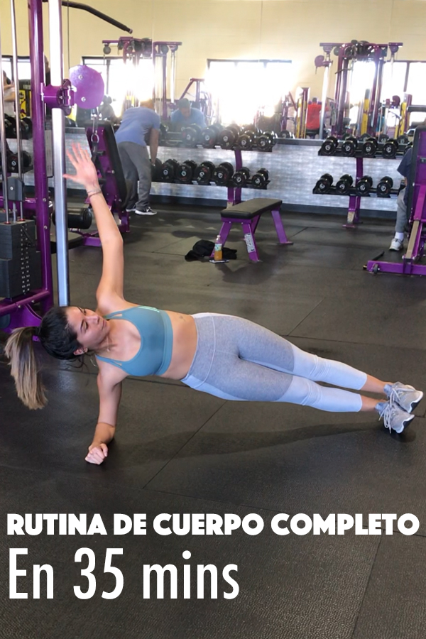 FULL BODY CIRCUIT WORKOUT UNDER 35 MINS // RUTINA DE CUERPO COMPLETO EN 35 MINS!