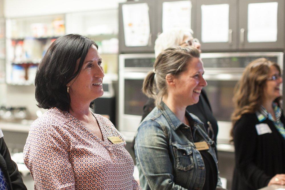 (left): Caralee McDaniel,  Acting Executive Director,  cmcdaniel@dartmouthfamilycentre.ca    (right):   Deborah Dickey,  Community Food Centre Manager,  ddickey@dartmouthfamilycentre.ca