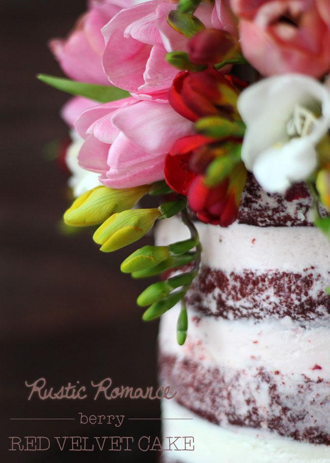 Rustic-Romance-Berry-Red-Velvet-Cake