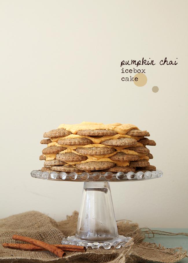 Pumpkin Chai Icebox Cake- Style Sweet CA