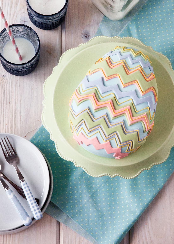 Diy Easter Egg Cake Style Sweet Ca