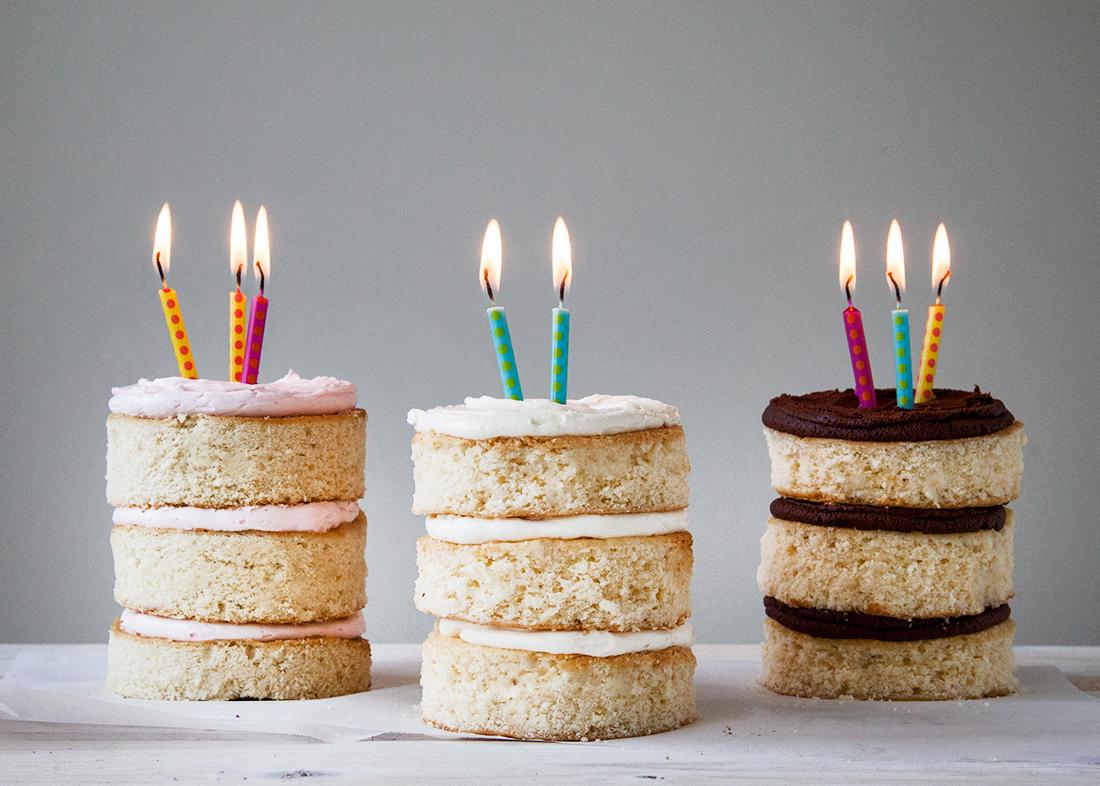 Neapolitan Mini Cakes Style Sweet Ca