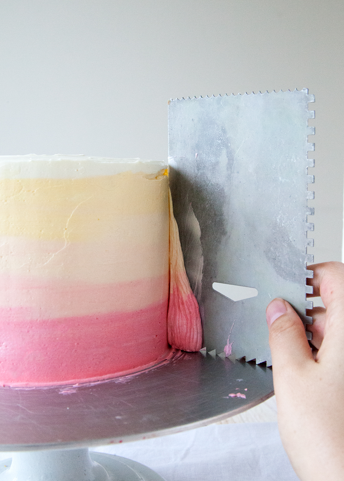Step By Step Naked Cake Icing