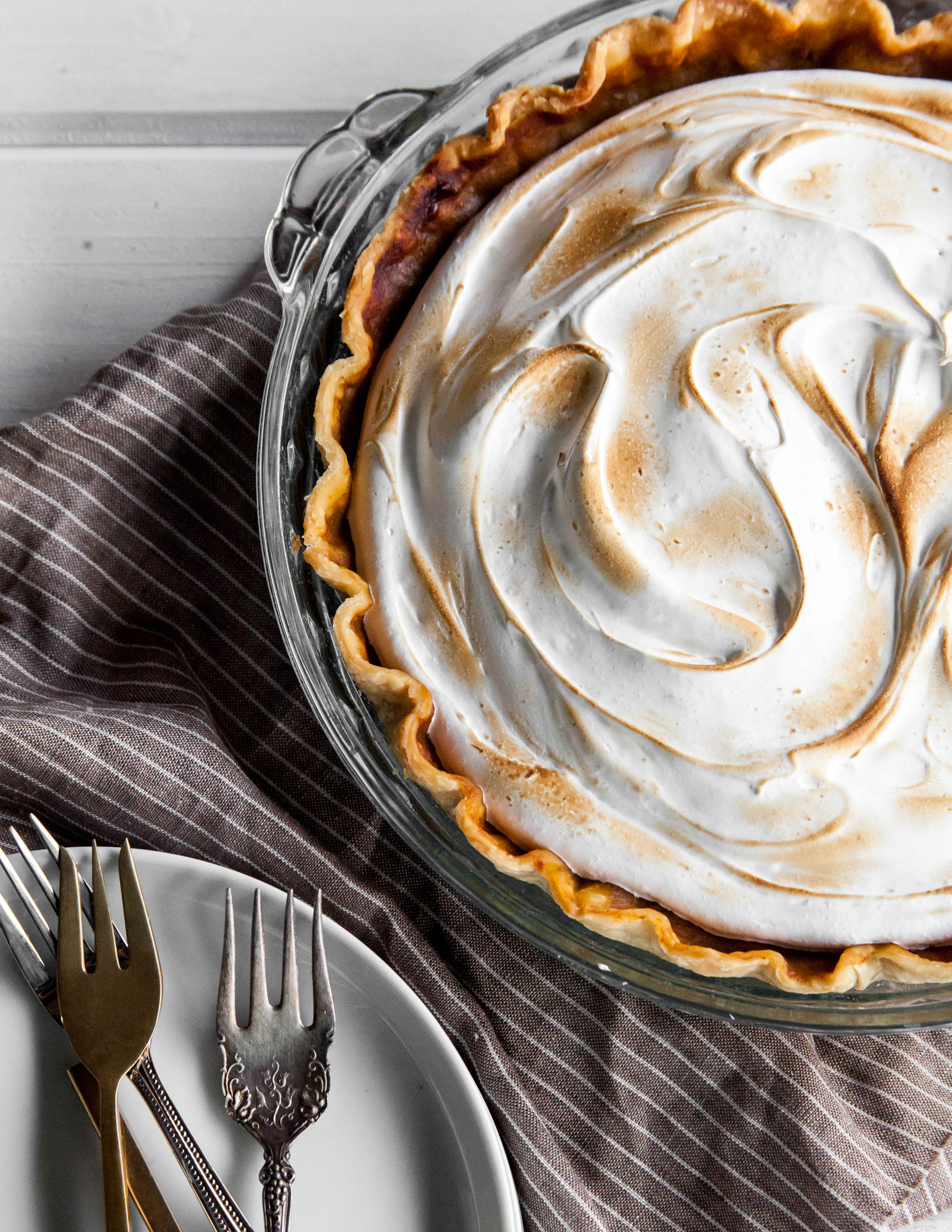 Maple Sweet Potato Pie — Style Sweet CA