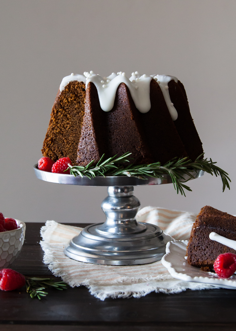 Lemon Gingerbread Bundt Cake — Style Sweet CA