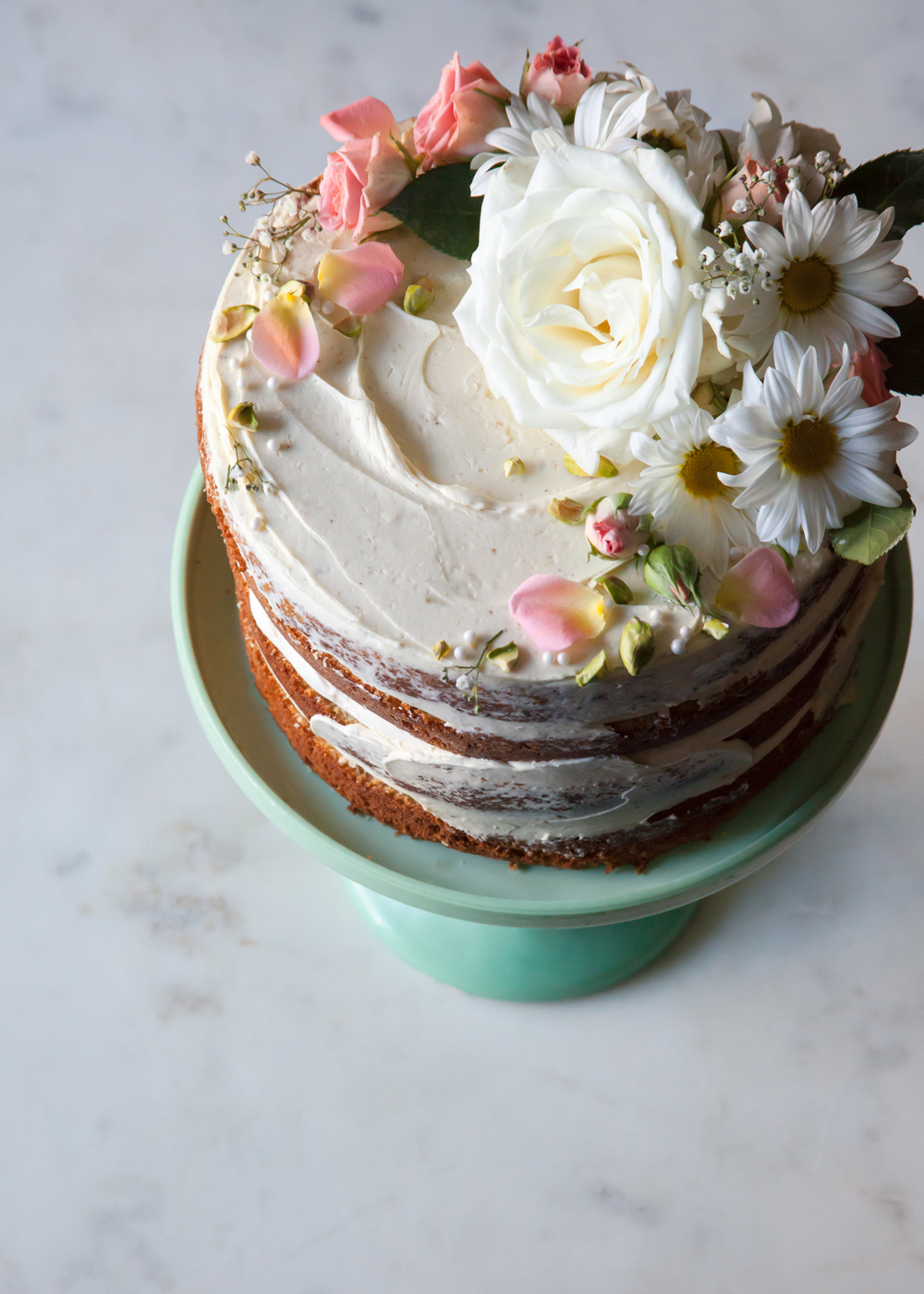Cake Design How To Make : How to Make a Naked Cake   Style Sweet CA