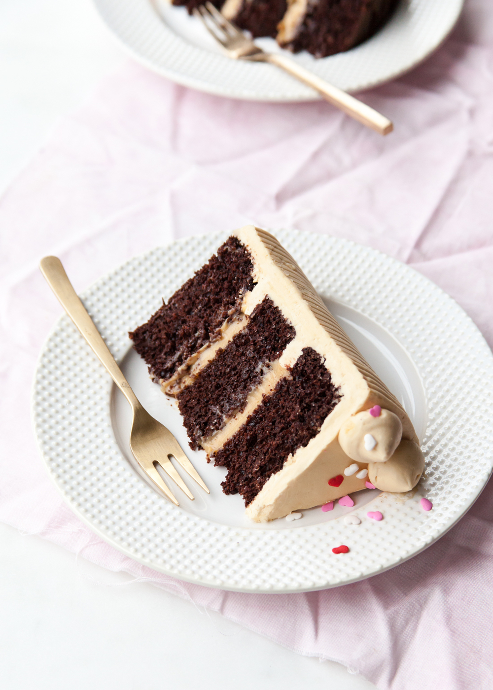 Chocolate Pastry Cake Images : Chocolate Caramel Valentine s Day Cake   Style Sweet CA