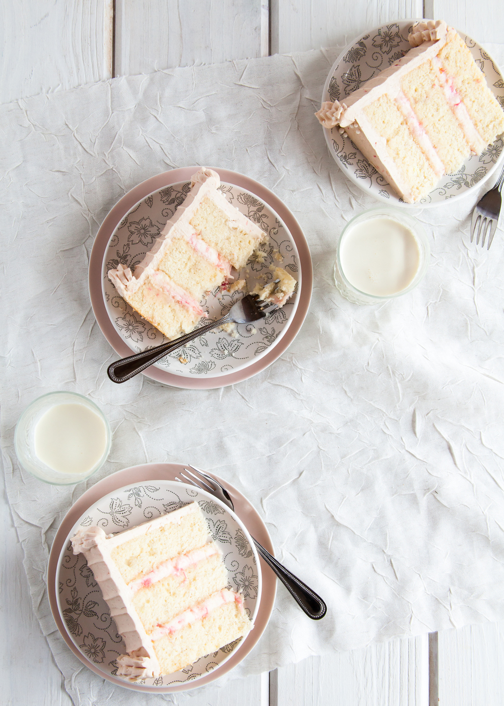 Rhubarb Ginger Layer Cake