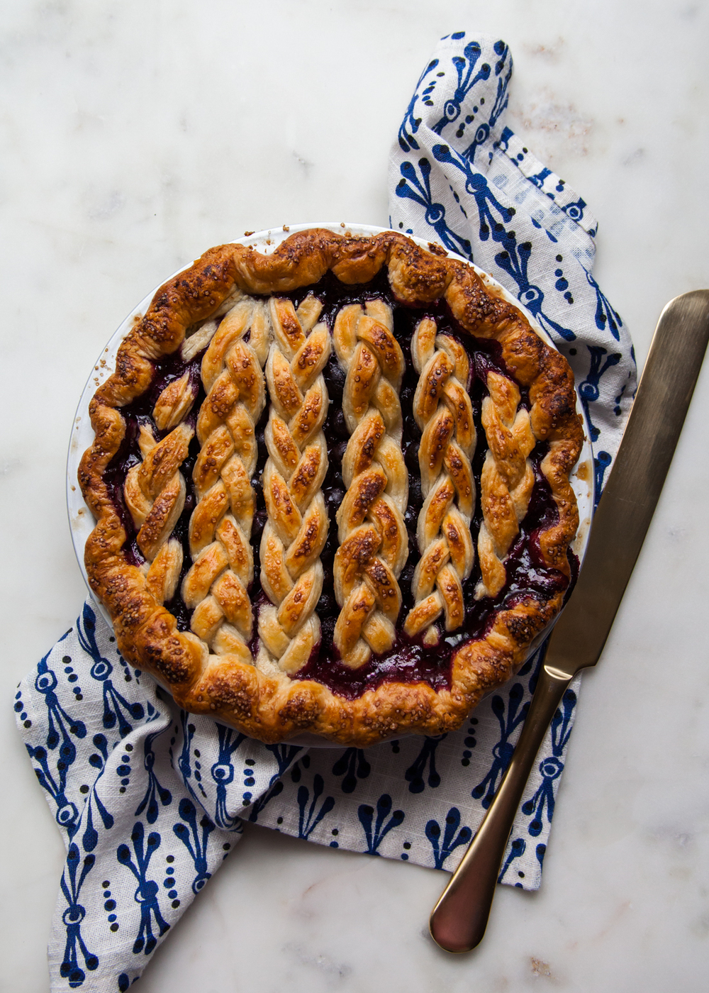 Black and Blueberry Pie — Style Sweet CA