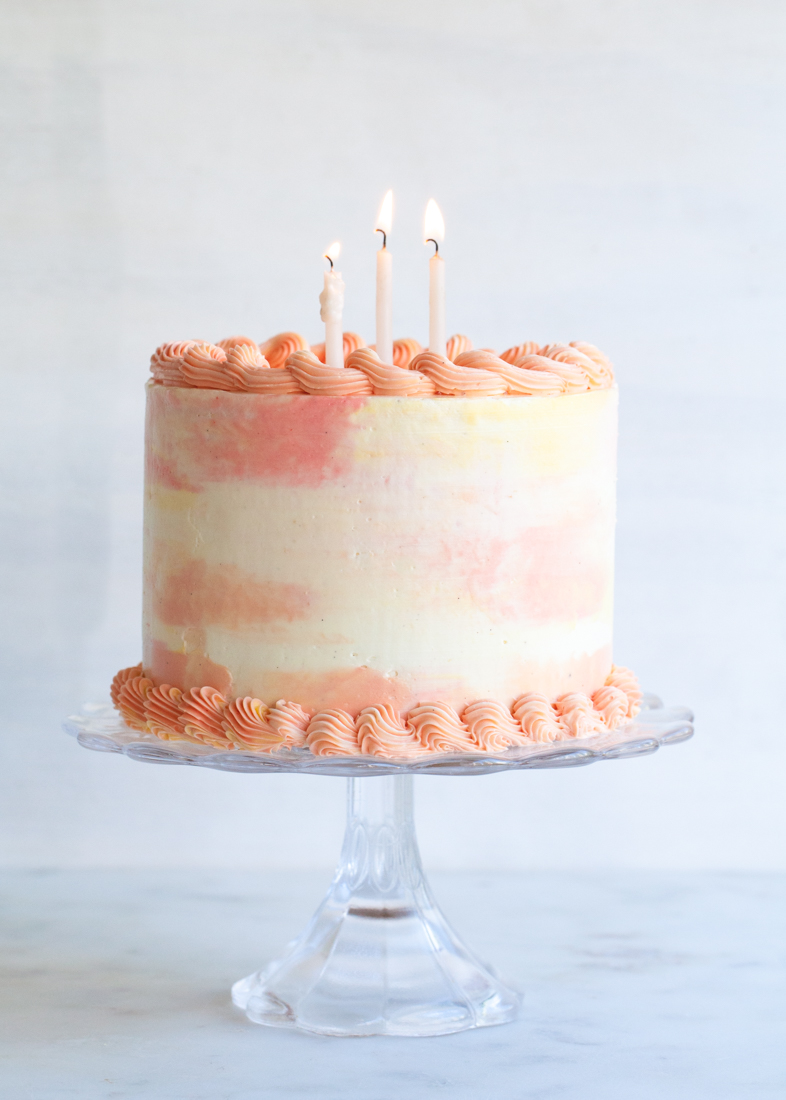How to Make a Watercolor Cake Style Sweet CA