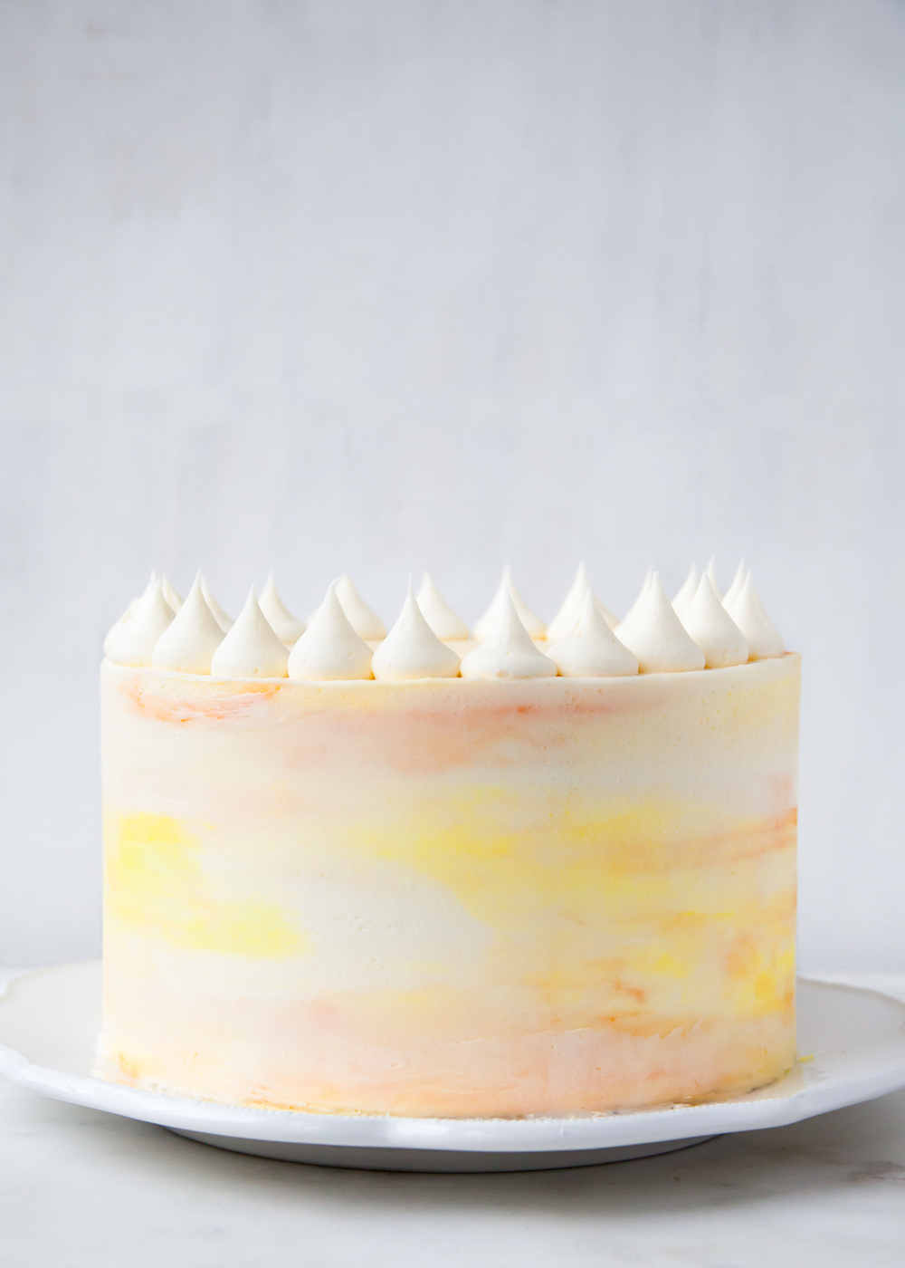 Passion Fruit Layer Cake   Style Sweet CA