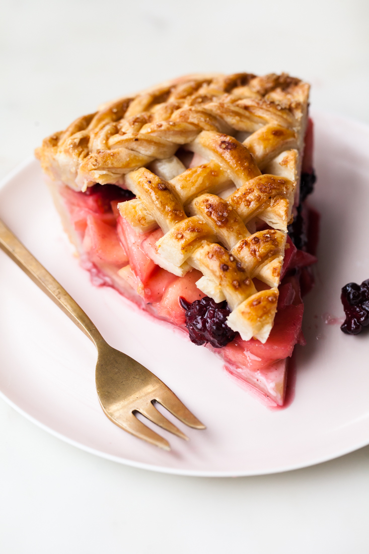 Apple Blackberry Pie Recipe