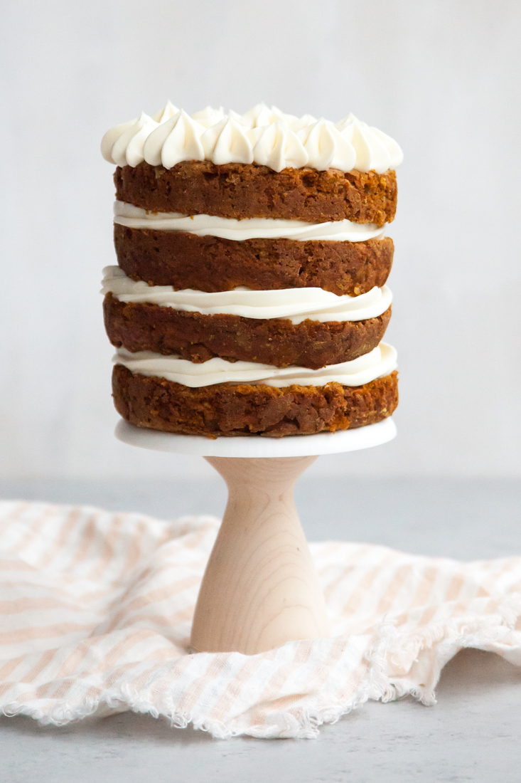 Remy's Sweet Potato Pup Cake