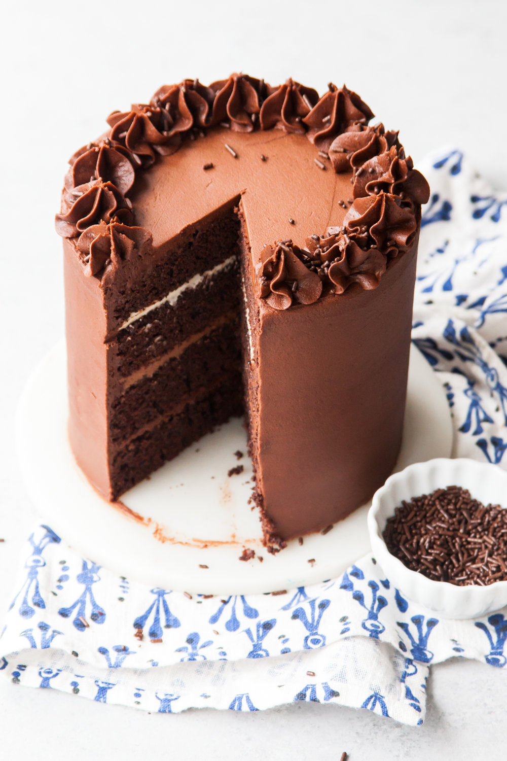 Chocolate Fudge Filling For Layer Cake