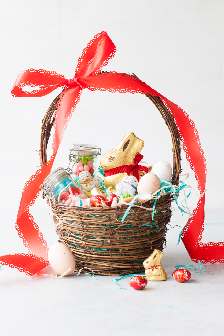 Earl Grey Caramels + Easter Basket Ideas with Lindt Chocolate