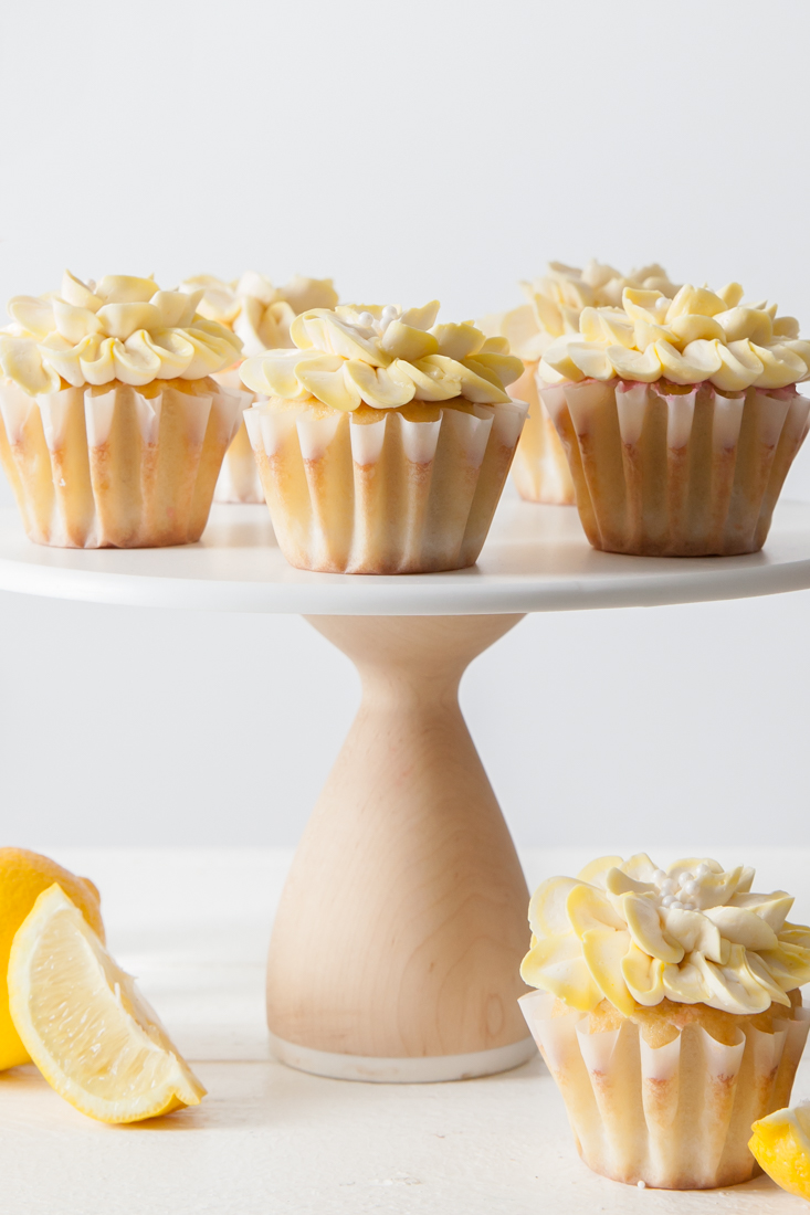 Sweet Iced Tea Lemon Cupcakes