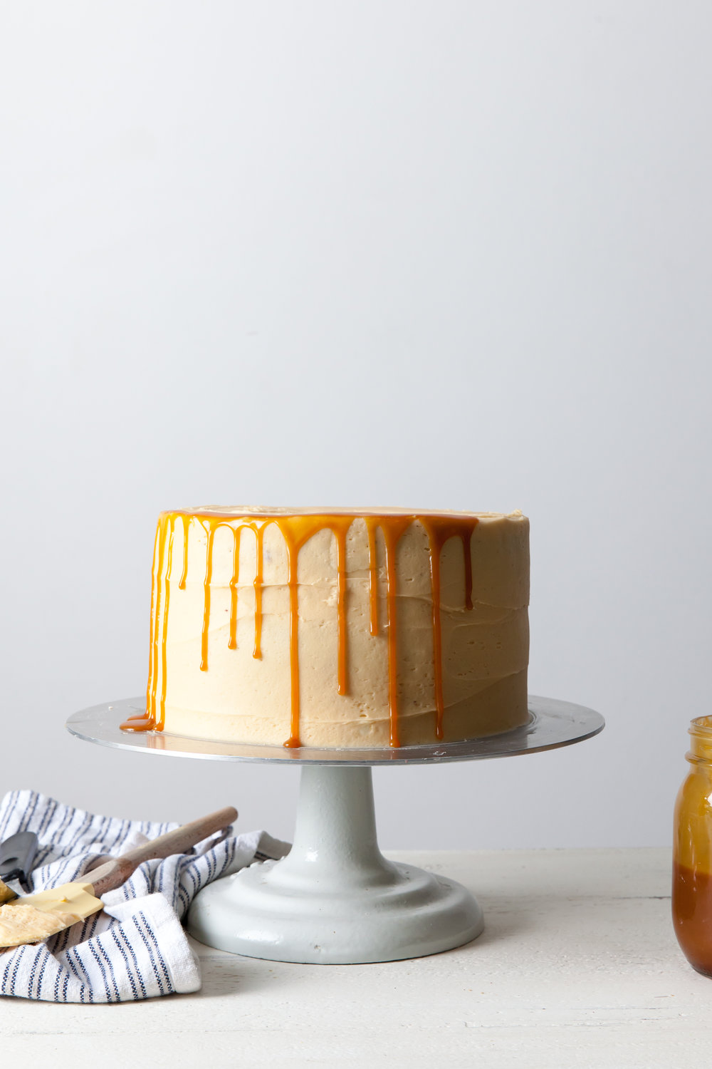 Chocolate Cake with Caramel Buttercream