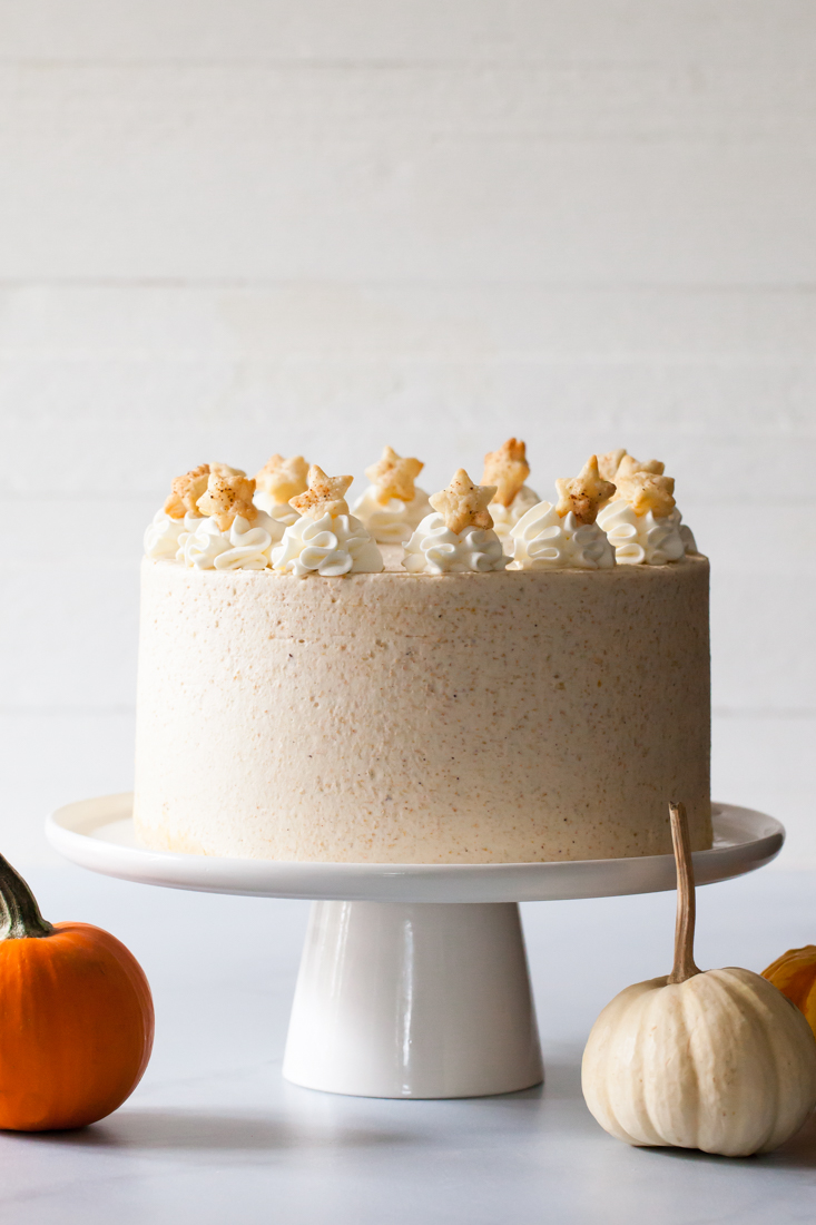 Pumpkin Pie Layer Cake Recipe