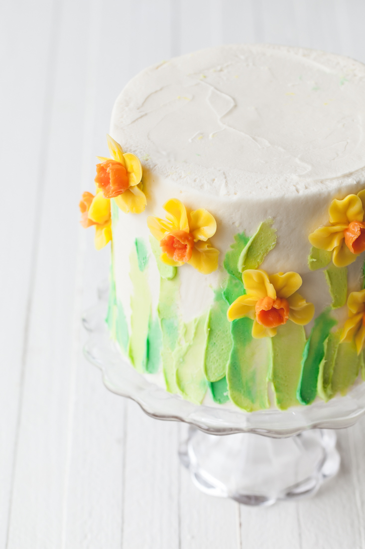 Hummingbird Cake with cream cheese frosting.