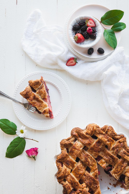 Mixed Berry Apple Pie Recipe
