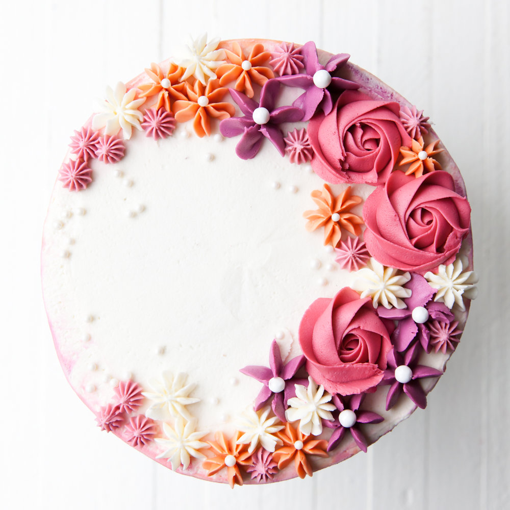 How To Make A Buttercream Flower Cake Style Sweet
