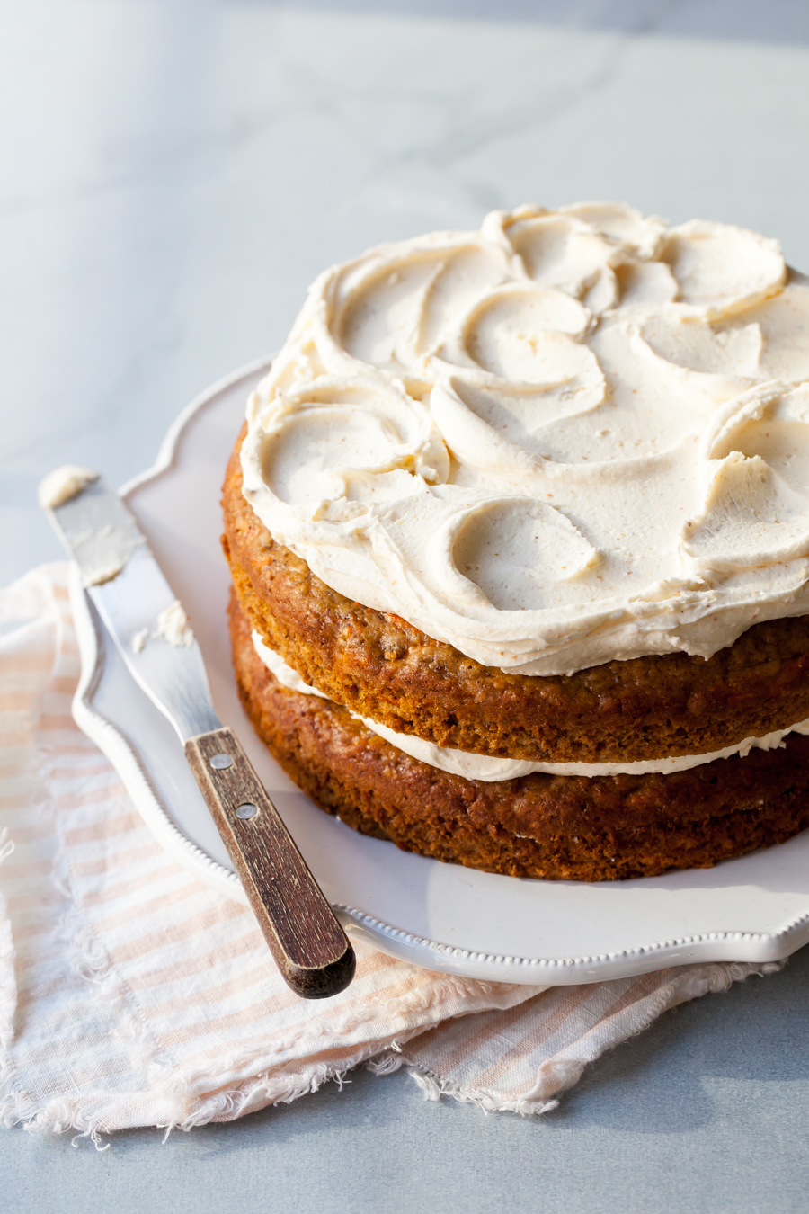 The Best Carrot Cake Recipe With Brown Butter Frosting Style Sweet Ca