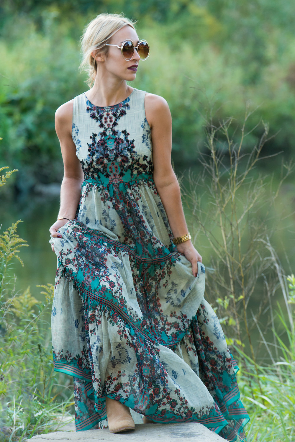 9dc7d6549eb3 All Occasion Dress. Anthropologie: Madera Maxi ...