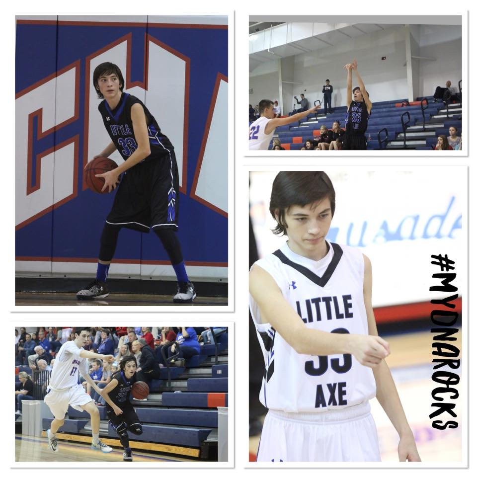 Dacoda McDowell to MyDNA Rocks Dacoda -Freshman at Little Axe High School Varsity Basketball #UnfollowtheCrowd #MyDNAROCKS