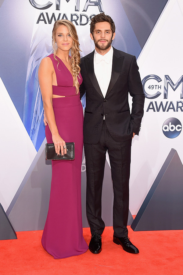 Lauren & Thomas Rhett - Michael Loccisano/Getty Images
