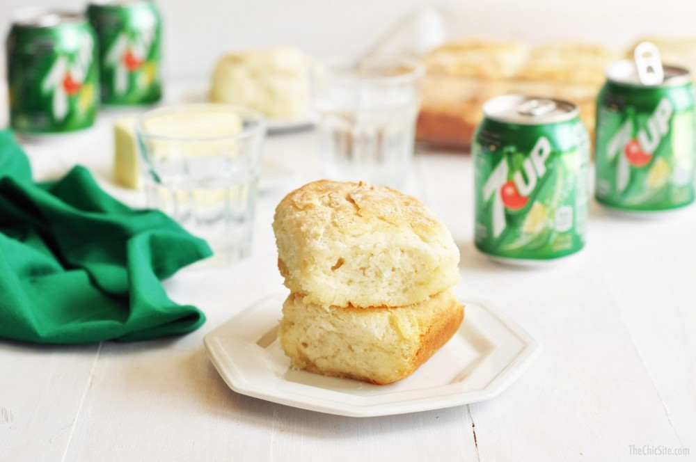 7-Up Biscuits  - via The Chic Site