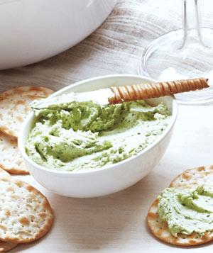 Goat Cheese Spread  - via Real Simple