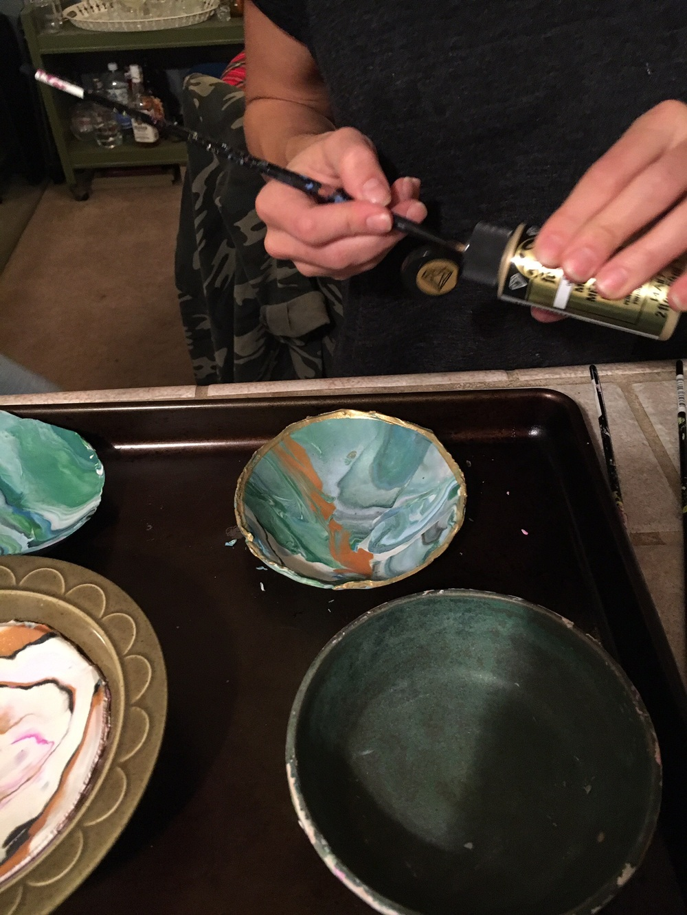 DIY: Marbled Clay Jewelry Dish