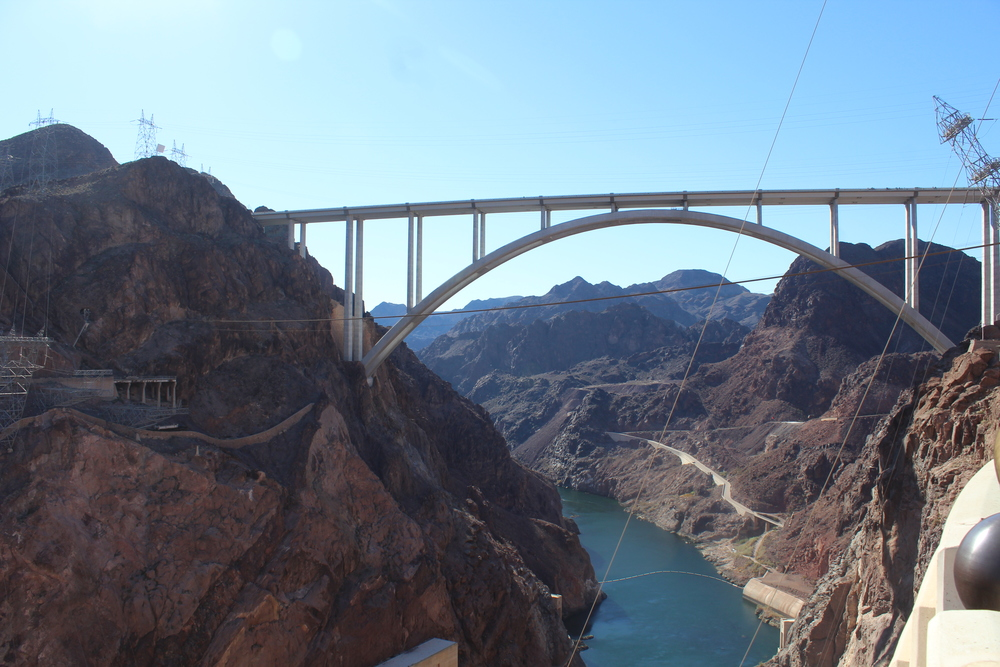 Hoover Dam - Colorado River Side
